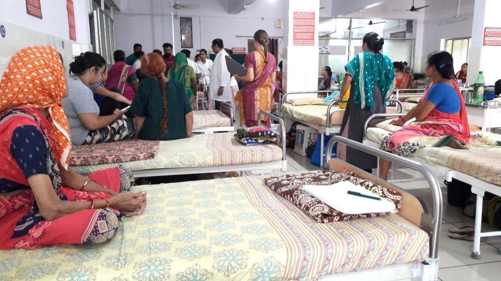Das indische Leben im ayurvedischen Krankenhaus