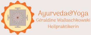 Heilpraktikerin Ayurveda&Yoga Géraldine Wallaschkowski  Friedberg Frankfurt/M Möchten Sie sich wieder fit und vital fühlen? Erleben Sie die Kraft der Natur-Heilkunde Logo